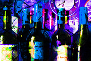 Wine-bottle Digital Art - Some Things Get Better With Time m150 by Wingsdomain Art and Photography