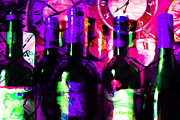 Wine-bottle Digital Art - Some Things Get Better With Time m88 by Wingsdomain Art and Photography