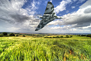 Vulcan Prints - Somerset Vulcan  Print by Rob Hawkins