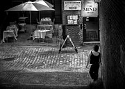 Cobblestone Framed Prints - Something For Your Mind Framed Print by Bob Orsillo
