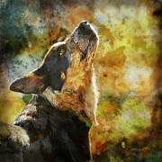 Herding Digital Art - Something in the Wind by Judy Wood