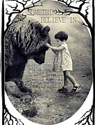 Believe Digital Art Originals - Something to Believe In by Spirit Awahili