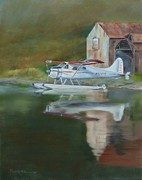 Kodiak Painting Originals - Somewhere in TIme by Priscilla Patterson