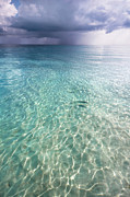 Jenny Rainbow Art Photography Prints - Somewhere is Rainy. Maldives Print by Jenny Rainbow
