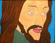 Jesus Painting Originals - Son Of God by Mark Hinojosa
