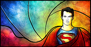 Fan Art Digital Art - Son of Jor-El by Mandie Manzano