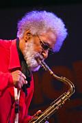 Jimmy Rollins Photo Posters - Sonny Rollins on Sax Poster by Craig Lovell