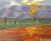 Barbara Anna Knauf - Sonoma County at sunset