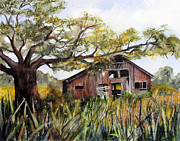 Sonoma County Painting Prints - Sonoma Two -Summer Print by Pamela Shearer