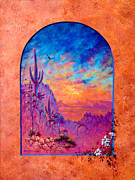 Southwest Art By Keith Stillwagon - Sonora Magic by Keith Stillwagon