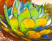 Printmaking Mixed Media - Sonoran Flora by Judith Rothenstein-Putzer