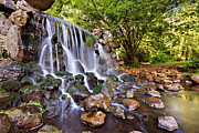 Gelderland Prints - Sonsbeek Waterfall / Arnhem Print by Barry O Carroll