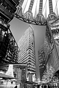 Bahn Prints - Sony Center - Berlin Print by Luciano Mortula