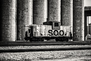 Cj-8 Prints - Soo Caboose Print by CJ Schmit