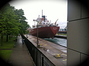 Rob and Morgan Tuisku - Soo Locks Freighter