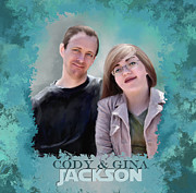 Susan Kinney Art - Soon to be Mr and Mrs Jackson by Susan Kinney