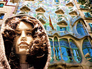 Staley Art Photo Prints - Sophia at Casa-Batllo Print by Chuck Staley