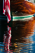 Vineyard Haven Prints - Sophies Reflection Print by Steve Myrick