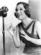Cbs Posters - Soprano Vivienne Segal On CBS Poster by Underwood Archives