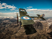 Ypres Prints - Sopwith Pup Print by Paul Heasman