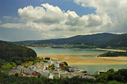 Galicia Photo Prints - Sor River Print by Guido Montanes Castillo