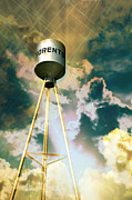 Marty Koch Photo Posters - Sorento Illinois Tower Poster by Marty Koch
