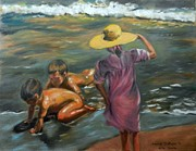 Sorolla Paintings - Sorolla duplication by Sunanda Chatterjee