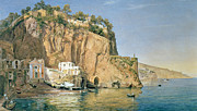 Italian Landscape Painting Prints - Sorrento Print by Emanuel Stockler