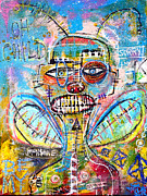 Graffiti Pastels Prints - Sorry Ant Print by Mops