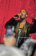 Concert Photos Art - Soul Diva Sings Again by Tonia Noelle