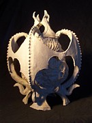 Fantasy Ceramics - Soul Guardians angled view by Steve Spagnola