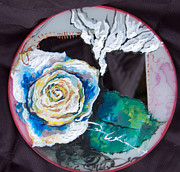 Mirror Paintings - Soul Image or Out of Brokenness by Danica Wixom