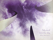 Midsummer Prints - Soul in the Sky - US Air Force Memorial Print by Julia Springer