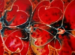 Poppies Paintings - Soul Mates by Sharon Cummings