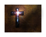 Religious Mixed Media Prints - Soul of Christ Print by Steve Crowhurst