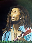 Jamaican Music Paintings - Soul Rebel by Kenneth Harris