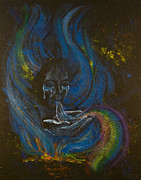 Chakra Rainbow Painting Originals - Soul Song by Colleen Koziara