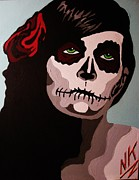 Sugar Skull Originals - Soulful Sugar Skull Girl by Nevets Killjoy