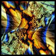 Sound Of Blue Lightning  Print by Elizabeth McTaggart