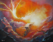 Christian Painting Originals - Sound of Heaven by Cindy Elsharouni