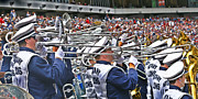 Penn State University Metal Prints - Sounds of College Football Metal Print by Gallery Three