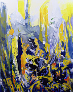 Abstract Expressionism Paintings - Sounds So Soothing by Thomas Hampton