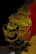 Cultural Painting Metal Prints - South Asian Art Motives Metal Print by Corporate Art Task Force
