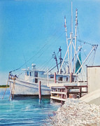 South Carolina Prints - South Carolina Oysters Print by Tim Johnson