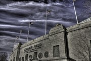 Soldier Field Prints - South end Soldier Field Print by David Bearden
