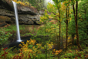 Peter Lik Photos - South Falls  by Aaron Reed