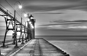 West Michigan Posters - South Haven Lighthouse Poster by Twenty Two North Photography