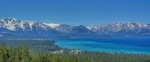 Brad Scott Art - South Lake Tahoe View by Brad Scott