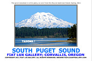South Puget Sound Posters - South Puget Sound Poster by Mike Moore FIAT LUX