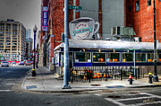 Elisabeth Van Eyken Photo Metal Prints - South Street Diner Metal Print by Elisabeth Van Eyken